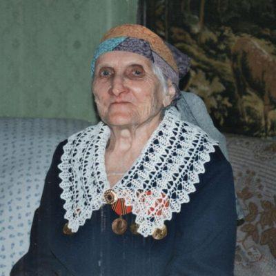 Клавдия Ульяновна Лысенок в свой 90-летний юбилей