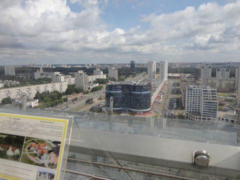 Панорамный обзор с крыши библиотеки