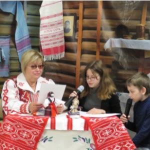 Чтение сказок на белорусском языке в Областной детско-юношеской библиотеке г. Томска