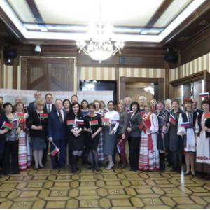 Участники круглого стола, посвященного Дню единения России и Республики Беларусь, г. Томск